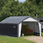 12x15x9-Accela-Frame-HD-Shelter-Gray-Cover-0-1
