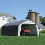 12x20x9-Accela-Frame-HD-Shelter-Gray-Cover-0