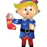 18-Pre-Lit-Rudolph-the-Red-Nosed-Reindeer-Hermey-Christmas-Yard-Art-Decoration-Clear-Lights-0