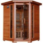 3-Person-Cedar-Corner-Infrared-Sauna-w-7-Carbon-Heaters-0