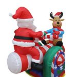4-Foot-Animated-Christmas-Inflatable-Santa-Claus-and-Reindeer-on-Teeter-Totter-Outdoor-Yard-Decoration-0-0