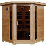4-Person-Hemlock-Corner-Infrared-Sauna-w-10-Carbon-Heaters-0