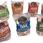 7-Flavor-Smoking-Wood-Chip-Variety-Bundle-Set-of-7-Large-2-lb-Bags-Oak-Cherry-Mesquite-Hickory-Pecan-Apple-Alder-0