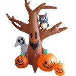 8-Foot-Dead-Tree-with-Owl-Ghost-and-Pumpkins-0