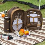 ALLCAMP-2-Person-Blue-Picnic-Backpack-Hamper-with-Cooler-Compartment-includes-Tableware-Fleece-Blanket-0-1
