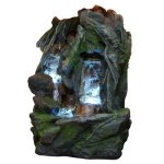 Alpine-Waterfall-Fountain-with-LED-0