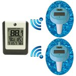 Ambient-Weather-WS-14-X2-Wireless-8-Channel-Floating-Pool-and-Spa-Thermometer-with-Two-Remote-Sensors-0