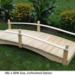 Amish-Made-Weight-Bearing-Pine-Acorn-Garden-Bridges-0