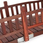 Beautiful-Classic-Look-and-Sturdy-Richmond-8-ft-Garden-Bridge-with-Traditional-Rails-Assembly-Required-0-0