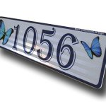 Butterfly-Curb-Mailbox-House-Address-Plaque-Reflective-0