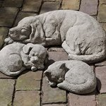 Campania-International-Curled-Cat-Statue-0