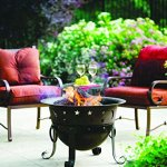 Catalina-Creations-29-Inch-Heavy-Duty-Cast-Iron-Celestial-Cauldron-Patio-Fire-Pit-with-Cover-and-Accessories-0-1