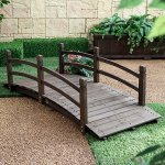 Coral-Coast-Harrison-6-ft-Wood-Garden-Bridge-Dark-Stain-0