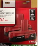 Craftsman-192-Volt-Battery-Lithium-Ion-Two-PP2011-Battery-Packs-0