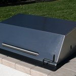 EasyChef-Charcoal-Wood-Built-in-30-Counter-Top-Grill-with-Black-Hood-0