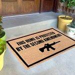Freedom-Company-Second-Amendment-Doormat-100-All-Natural-Fibers-Coir-Eco-friendly-0-0