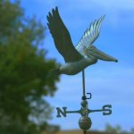 Good-Directions-9509V1-Pelican-Weathervane-Blue-Verde-Copper-0-1