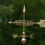 Good-Directions-954P-Smithsonian-Arrow-Weathervane-Polished-Copper-0-1