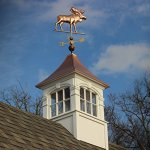 Good-Directions-9557P-Moose-Weathervane-Polished-Copper-0-1