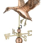 Good-Directions-9605P-Landing-Duck-Weathervane-Polished-Copper-0-0