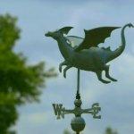Good-Directions-9672V1-Dragon-Weathervane-Blue-Verde-Copper-0-1