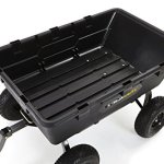 Gorilla-Carts-Extra-Heavy-Duty-Poly-Dump-Cart-with-2-in-1-Convertible-Handle-with-a-Capacity-of-1500-lb-Black-0-0