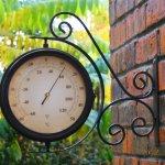 Indoor-Outdoor-Garden-Yard-Bracket-Clock-Thermometer-138ins-0-1