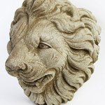 Italian-Lion-Head-Concrete-Wall-Plaque-10-inches-H-x-10-inches-W-0-1