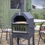 La-Hacienda-56107US-Steel-Construction-Pizza-Oven-and-Smoker-0-0