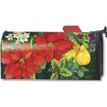 MailWraps-Poinsettia-Fruit-Mailbox-Cover-06395-by-MailWraps-0