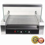 New-30-Hot-Dog-11-Roller-Grill-Commercial-Cooker-Machine-0