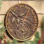 Pinecone-Thermometer-Clock-0