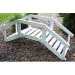 Prairie-Leisure-Ornamental-4-ft-Single-Rail-Garden-Bridge-0