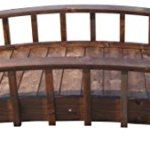SamsGazebos-Country-Wood-Garden-Bridge-8-Feet-Brown-0-0