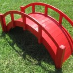 SamsGazebos-Miniature-Japanese-Wood-Garden-Bridge-29-Inch-Red-0-0