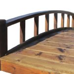 SamsGazebos-Moon-Bridges-Japanese-Style-Arched-Wood-Garden-Bridges-8-Feet-Brown-0-0