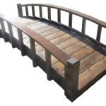 SamsGazebos-Moon-Bridges-Japanese-Style-Arched-Wood-Garden-Bridges-8-Feet-Brown-0