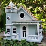 Springfield-Flower-Cottage-Birdhouse-is-a-Beautiful-Sky-Blue-with-White-Trim-Charming-Wood-Birdhouse-with-Beautiful-Flower-Pots-0-0