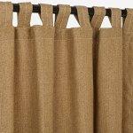 Sunbrella-Outdoor-Curtain-with-Tab-Top-Linen-Sesame-50×96-0