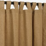Sunbrella-Outdoor-Linen-Curtain-with-Tab-Top-0