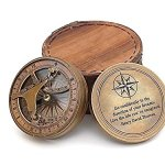 Thoreaus-Go-Confidently-Notation-Engraved-Heavy-Brass-Sundial-Compass-with-Leather-Case-0