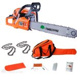 Timberpro-62cc-Petrol-Chainsaw-20-Bar-2x-Saw-Chain-Alloy-Assisted-Start-0