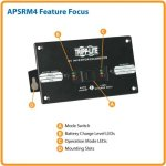 Tripp-Lite-Remote-Control-Module-for-Tripp-Lite-PowerVerter-Inverters-PV-Series-and-InverterChargers-RV-APS-EMS-Series-APSRM4-0-0