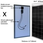 WindyNation-200-Watt-Solar-Panel-Complete-Off-Grid-RV-Boat-Kit-with-LCD-PWM-Charge-Controller-Solar-Cable-MC4-Connectors-Mounting-Brackets-0-0