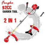 Fengke-Multitool-Petrol-52cc-175kw-2-in-1-Garden-Grass-Strimmer-Brush-Cutter-lawn-weeds-0