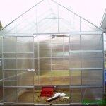 12-X-10-Polycarbonate-Aluminum-Framed-Steel-Base-Greenhouse-0