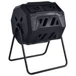 42-Gallon-Compost-Tumbler-Garden-Waste-Bin-Grass-Food-Trash-Barrel-Fertilizer-Black-0-0
