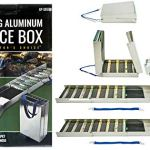 50-Long-Folding-Sluice-Box-2-10-Green-Gold-Pans-Snuffer-Bottle-Kit-0-1