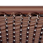 5ft-Brown-Tube-Slats-for-Chain-Link-Fence-0-1