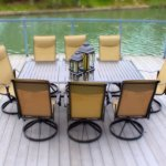 9pc-Cast-Aluminum-Swivel-Patio-Furniture-Dining-Set-with-Slat-Top-Table-Bronze-0